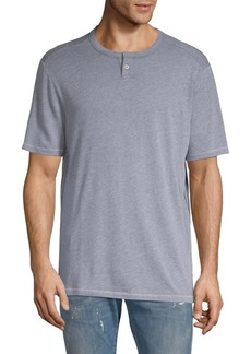 Tommy Bahama Weekends Best Dual-Tone Henley