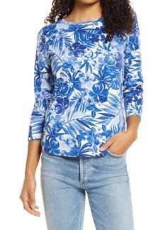 Women's Tommy Bahama Ashby Tropical Print Cotton T-Shirt