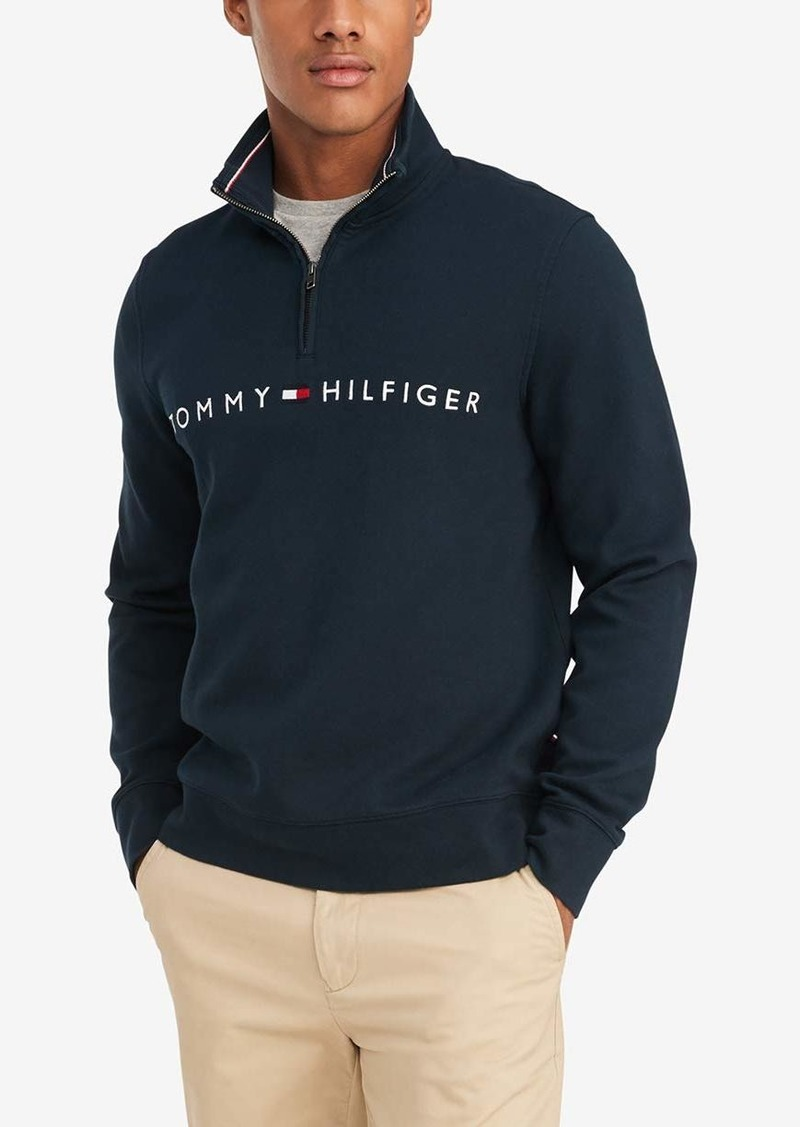 Tommy Hilfiger 1/4 Zip Pullover Sweater