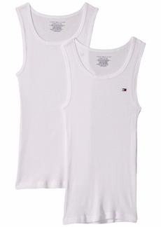 Tommy Hilfiger 2-Pack Solid Tank Top Undershirts (Little Kids/Big Kids)
