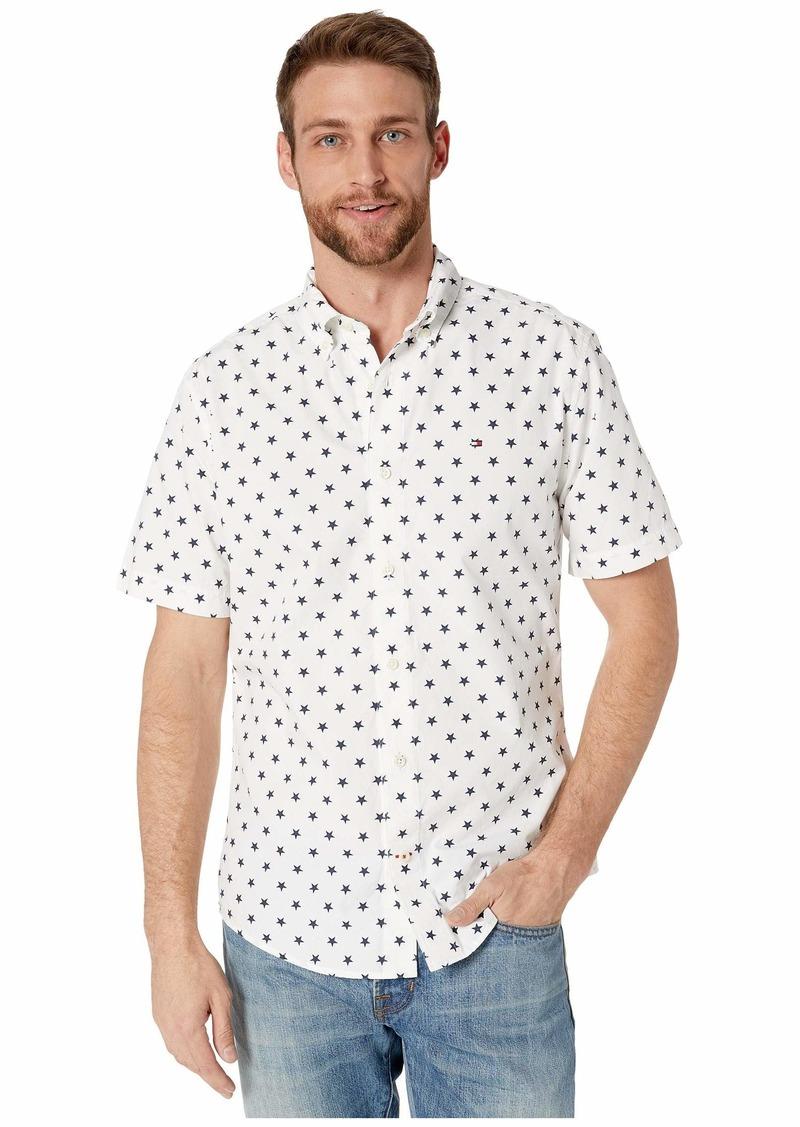 Tommy Hilfiger Abbott Star Print Short Sleeve Shirt