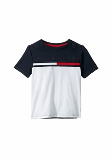 Tommy Hilfiger Adaptive T Shirt with Velcro® Brand Closure at Shoulders (Little Kids/Big Kids)