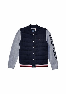 Tommy Hilfiger Baseball Sweater (Little Kids/Big Kids)