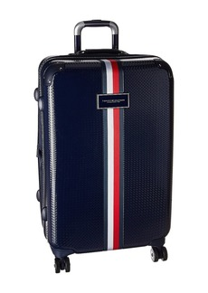 "Tommy Hilfiger Basketweave 25"" Upright Suitcase"