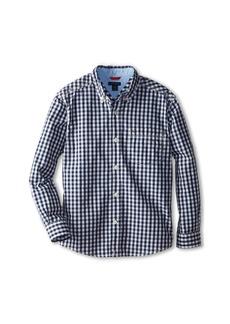 Tommy Hilfiger Baxter L/S Woven Shirt (Big Kids)