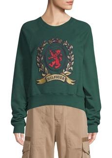 Bayberry Crest Logo Sweatshirt