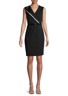 Tommy Hilfiger Belted Sleeveless Dress