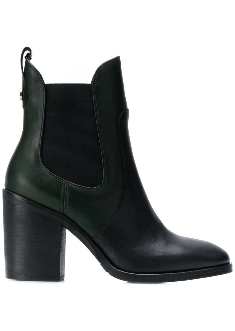 Tommy Hilfiger block-heel ankle boots