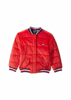 Tommy Hilfiger Bomber Jacket with Magnetic Buttons (Little Kids/Big Kids)