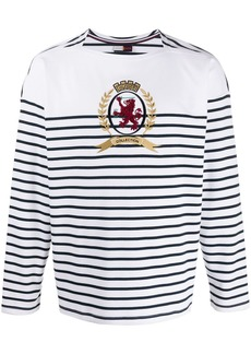Tommy Hilfiger Breton stripe long sleeved top