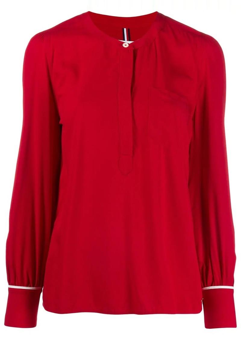Tommy Hilfiger button-detail blouse