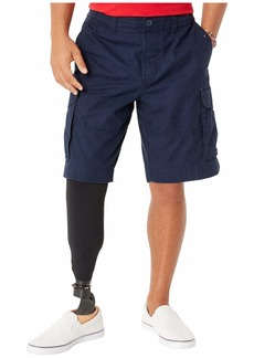 Tommy Hilfiger Cargo Shorts with Adjustable Waist and Magnet Buttons