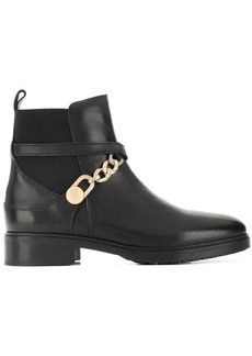 Tommy Hilfiger chain embellished ankle boots