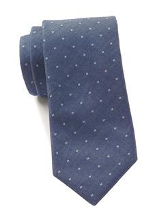 Tommy Hilfiger Chambray Dot Tie