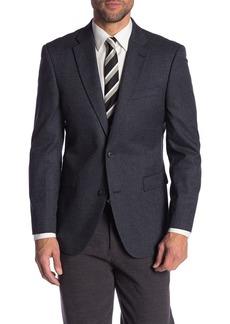 Tommy Hilfiger Check Notch Collar Regular Fit Jacket