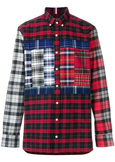Tommy Hilfiger classic patchwork shirt