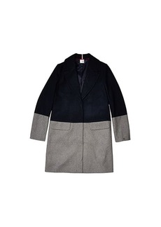 Tommy Hilfiger Color Block Wool Coat