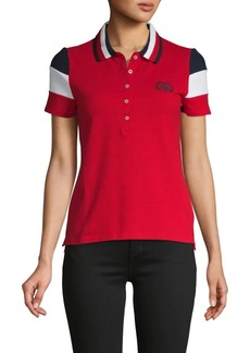 Tommy Hilfiger Colorblock Stretch Cotton Polo