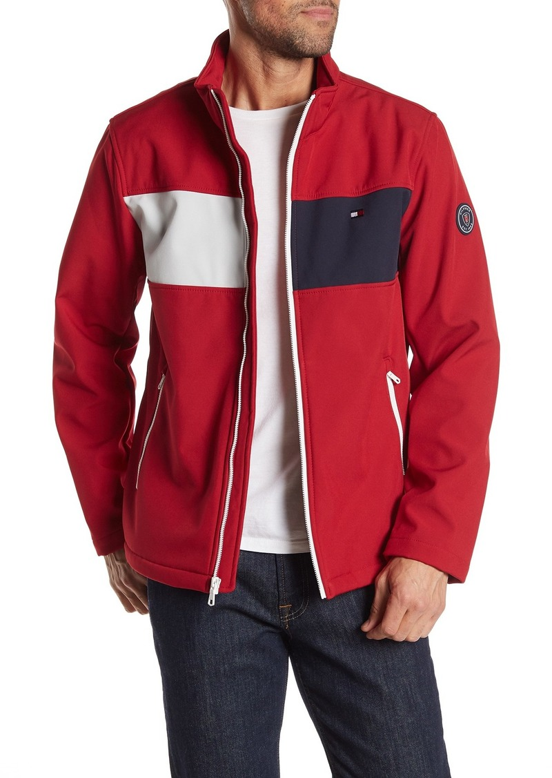 Tommy Hilfiger Colorblock Zip Front Jacket