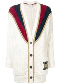 Tommy Hilfiger colour-block cardigan