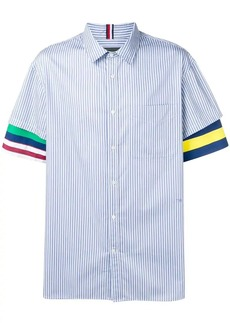Tommy Hilfiger contrast sleeve striped shirt