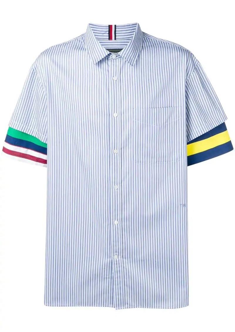 Tommy Hilfiger contrast sleeve striped shirt