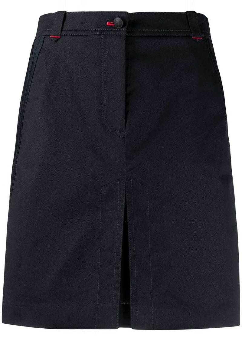 Tommy Hilfiger contrast stitched skirt