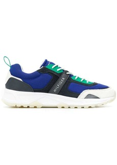 Tommy Hilfiger contrast texture sneakers