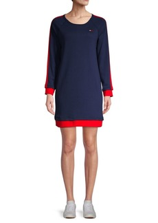 Tommy Hilfiger Cotton-Blend Sweater Dress