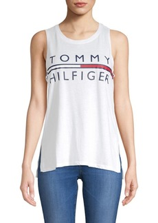 Tommy Hilfiger Cotton Logo Tank Top
