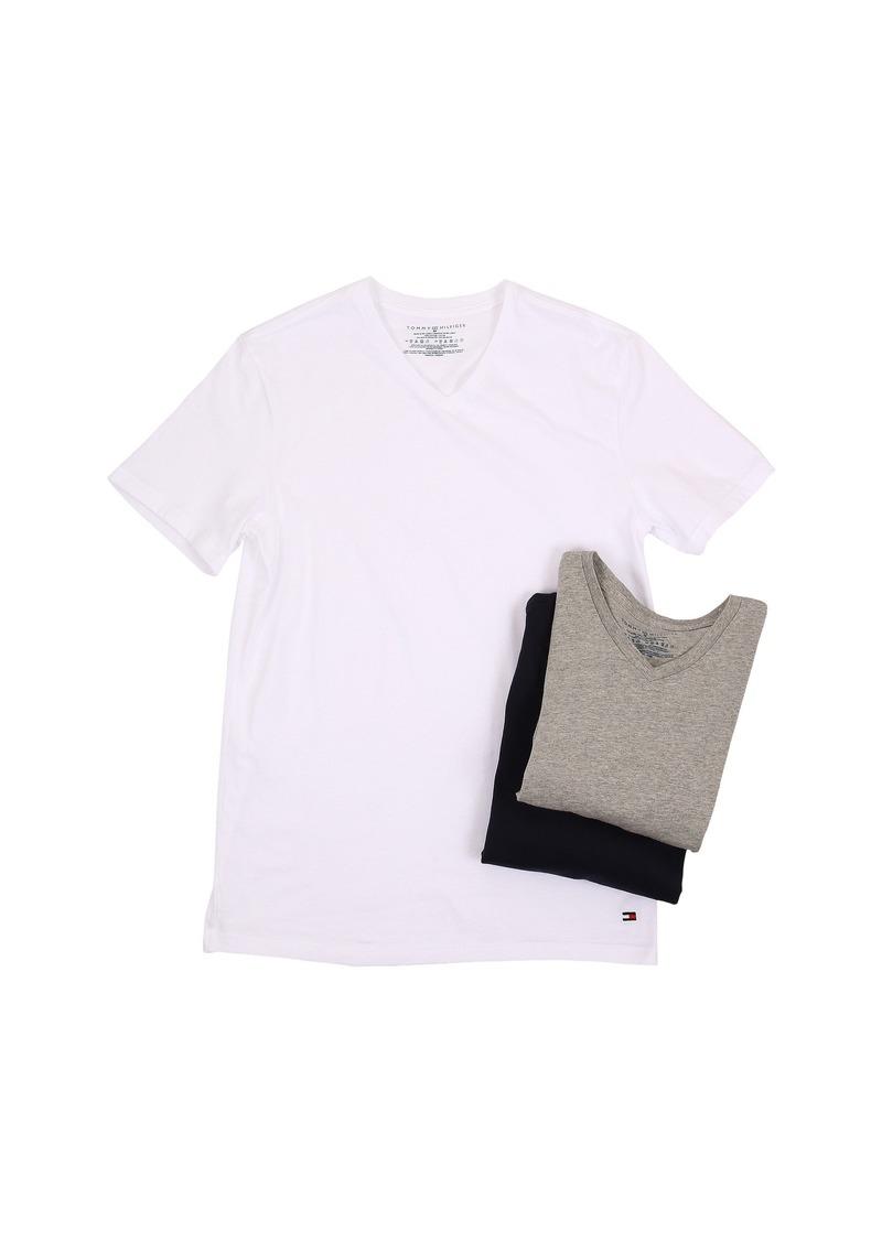 Tommy Hilfiger Cotton V-Neck Shirt 3-Pack