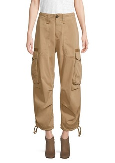 Tommy Hilfiger Cropped Cotton Cargo Pants