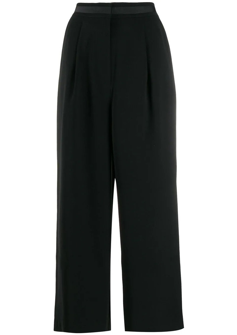 Tommy Hilfiger cropped wide leg trousers