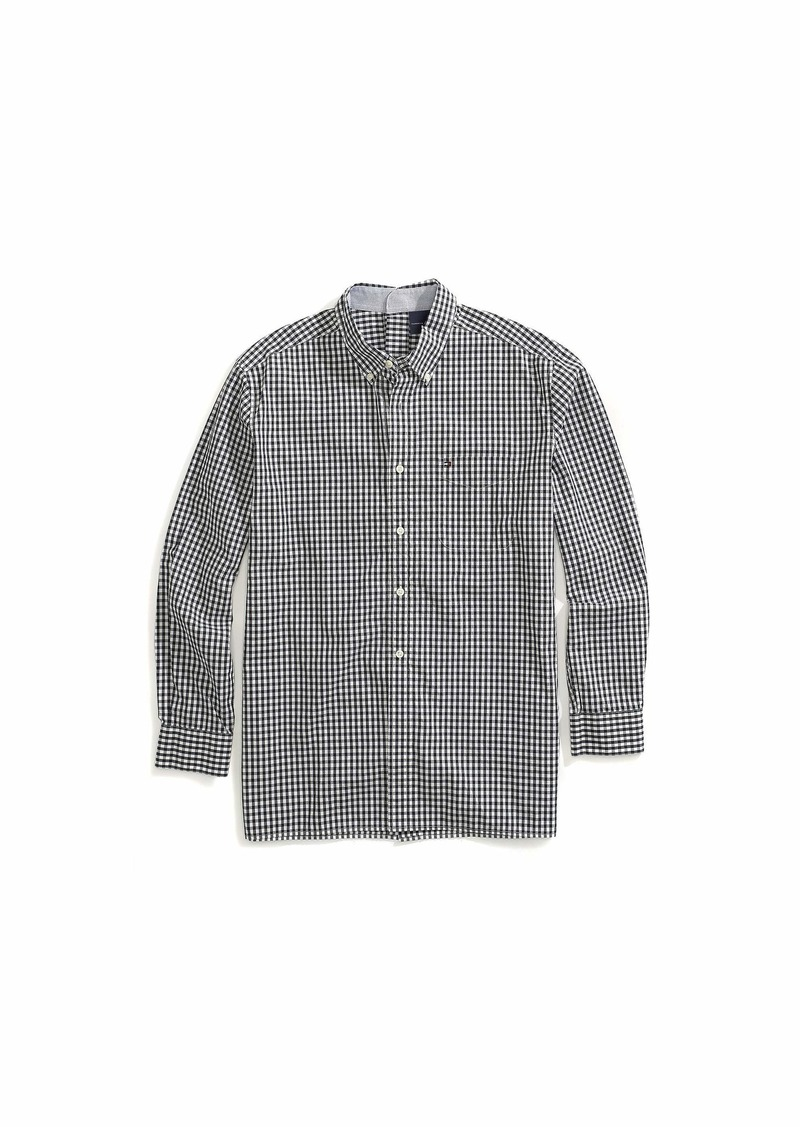 Tommy Hilfiger Men's Seated L/S Woven Shirt w/ VELCRO® Brand Closure at Center Back