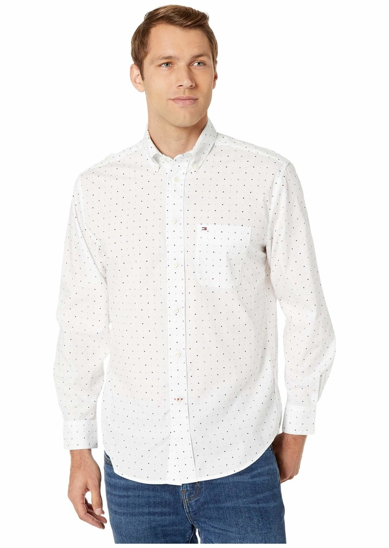 Tommy Hilfiger Custom Fit Microprint Shirt