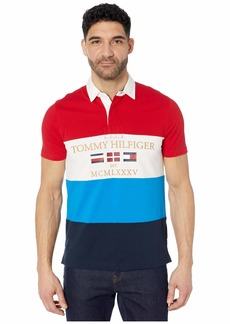 Tommy Hilfiger Custom Fit Short Sleeve Rugby