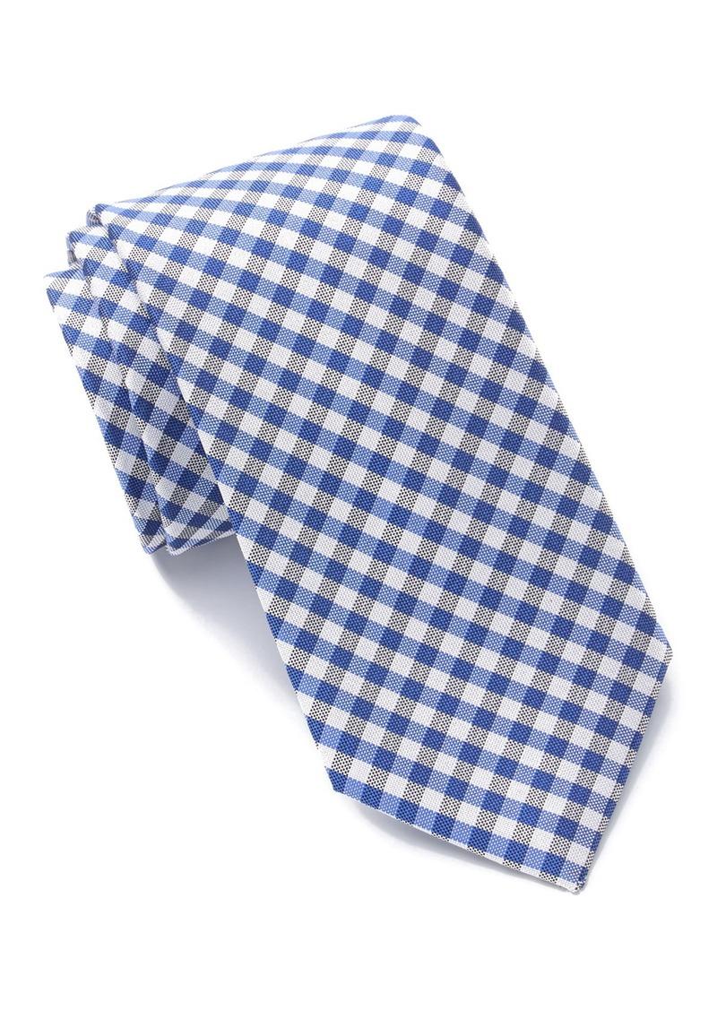 Tommy Hilfiger Dark Plaid Tie - XL