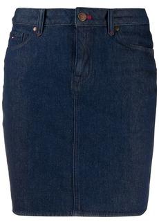 Tommy Hilfiger denim fitted skirt