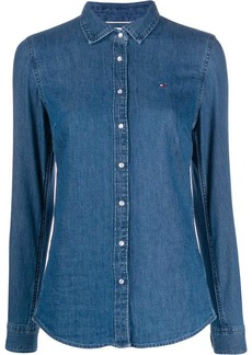 Tommy Hilfiger denim slim-fit shirt