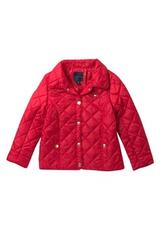 Tommy Hilfiger Diamond Quilted Barn Jacket (Big Girls)