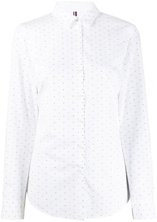 Tommy Hilfiger dotted jacquard shirt