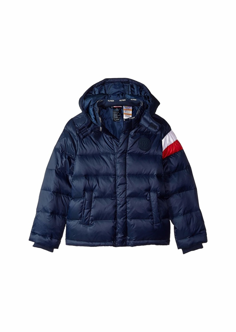 2c771b6f Tommy Hilfiger Down Puffer Jacket with Magnetic Buttons (Little Kids/Big  Kids)