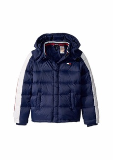 Tommy Hilfiger Down Puffer Jacket with Magnetic Buttons (Little Kids/Big Kids)