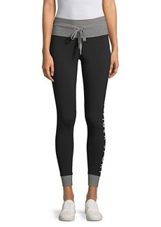 Tommy Hilfiger Drawstring Cropped Leggings