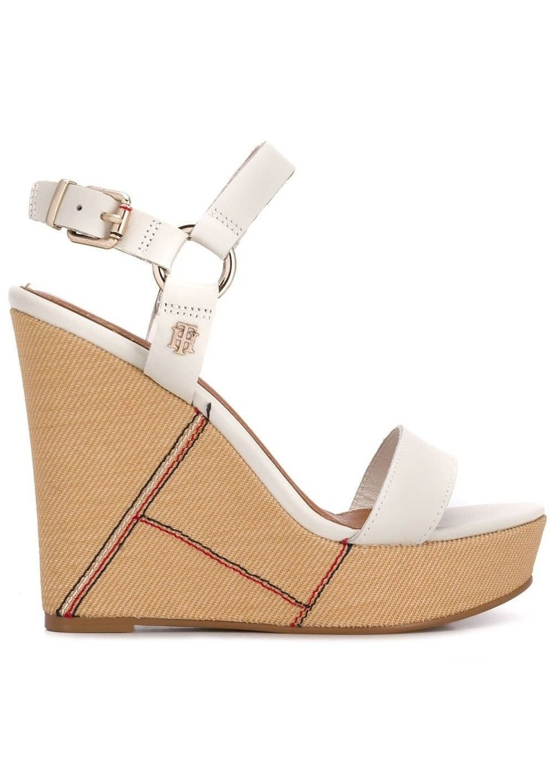 Tommy Hilfiger Elevated wedge sandals