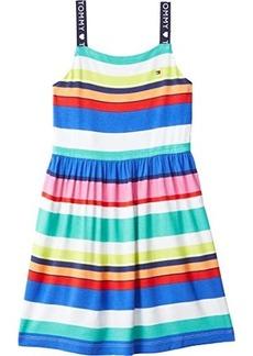 Tommy Hilfiger Eleven Sleeveless Knit Dress with VELCRO® Closure at Shoulders (Toddler/Little Kids/Big Kids)
