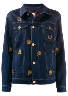Tommy Hilfiger embroidered crest denim jacket