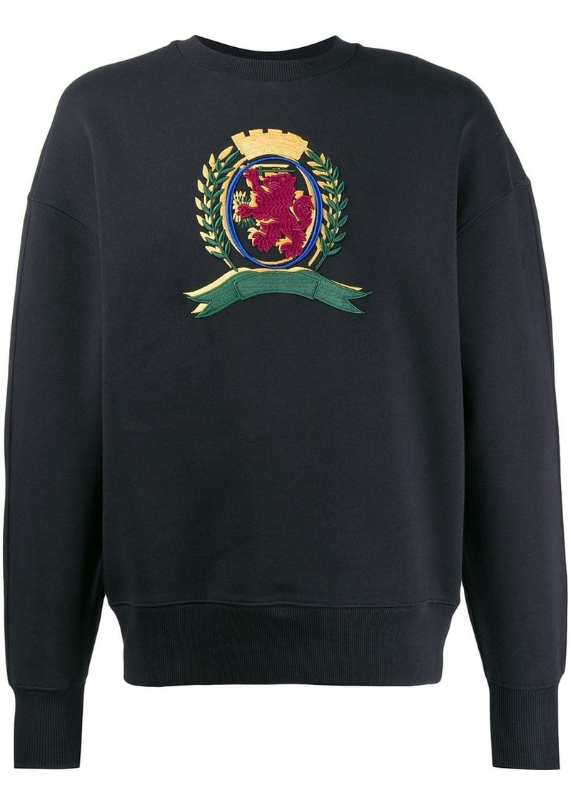 Tommy Hilfiger embroidered crest sweater