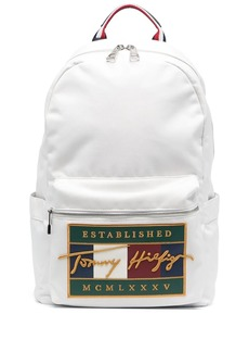Tommy Hilfiger embroidered flag backpack