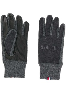 Tommy Hilfiger embroidered logo gloves